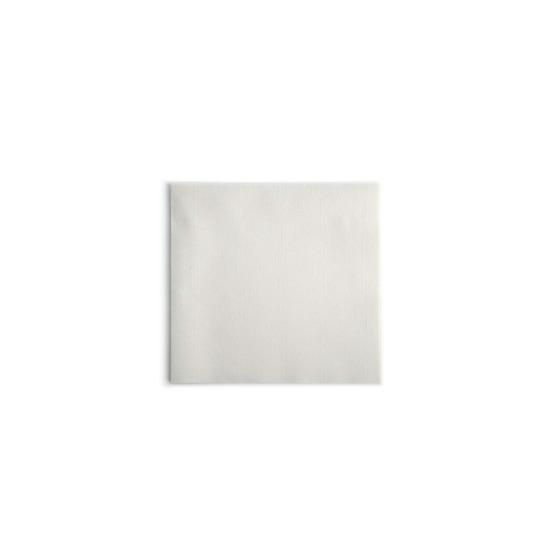 Personnalisée 1 couleur<Br>Serviette Airlaid 20x20 cm<Br>BLANC, pliage 1/4