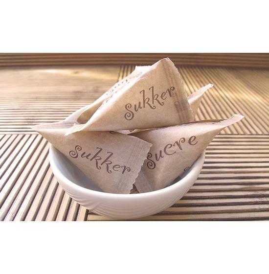 Berlingot<Br>Sucre blanc<Br>Emballage papier
