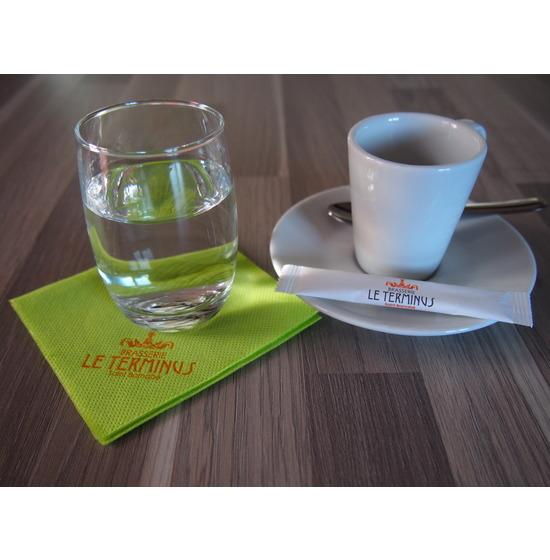 Bûchettes<Br>Sucre blanc<Br>Emballage papier