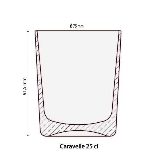 Verre Caravelle 25cl