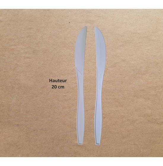 Couverts PLA Couteau+Fourchette+Cuillère