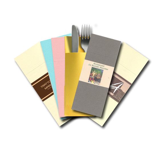 Ring Personnalisé<Br>Airlaid couleur PASTEL<Br>Format 39x40 cm